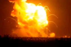 Explosion Antares destroyed the secrets USA