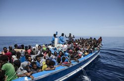 About 700 migrants died in the Mediterranean sea