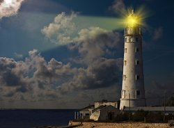 700 lighthouse keepers celebrate New year in the workplace