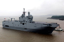 "France will pay for the ""Mistral"" 1.2 billion euros"