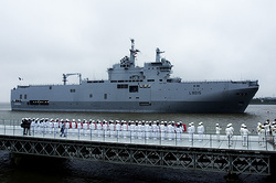 "The French are waiting for the reckoning for the ""Mistral"""