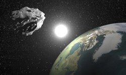 Asteroid BH30 was held at a creepy close distance from the Earth