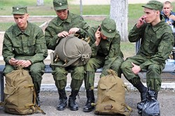 In Russia April 1 begins spring conscription