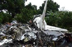 In Sudan plane crashed An-12