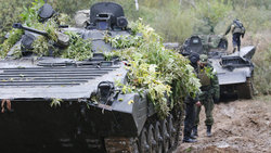 In the Vitebsk region were Russian-Belarusian military exercises