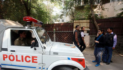 In India a religious fanatic killed six-year-old daughter