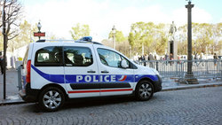 In France, it was fired at a tourist bus