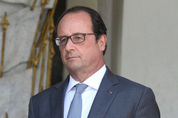 Hollande spoke about the lifting of sanctions