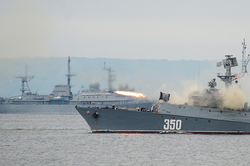 The Russian ships fired on the positions of the IG in Syria