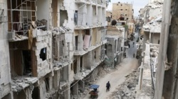 In Syria, the terrorists shelled the city of Aleppo