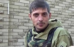 "Killed the commander of the army battalion DND ""Somalia"" Mikhail Tolstoy"