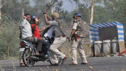 In India, riots broke out after the murder of farmers