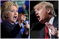 So who is: the trump or Clinton ?