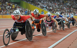 Several records were set at the national Paralympic Games