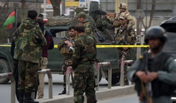 In Kabul, militants attacked a military hospital