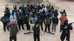 In Syria more than a thousand militants decided to lay down their arms