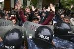 In Yerevan arrested more than thirty protesters