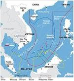 Beijing accused the U.S. of invading its waters in the South China sea