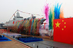 China showed off its newest warship