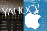 Apple copied the design from Yahoo envy