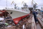 """The newest frigate the """"Admiral Makarov"""" completes test"""
