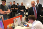 Putin unexpectedly visited the office of Yandex