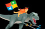 News: 28 July 15:51: Windows 10 launched the cat in the dinosaur