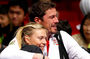 Sharapova and Safin have fun in Japan