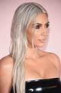 Kim Kardashian has again become a blonde
