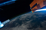 "News: 8 December 13:23: Russian cosmonaut photographed a ""shooting star"""